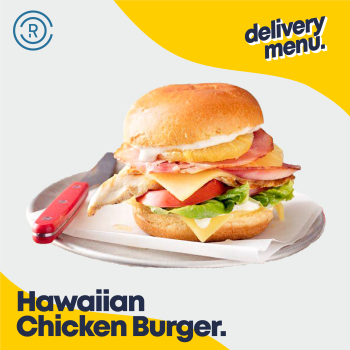 Hawaiian Chicken Burger