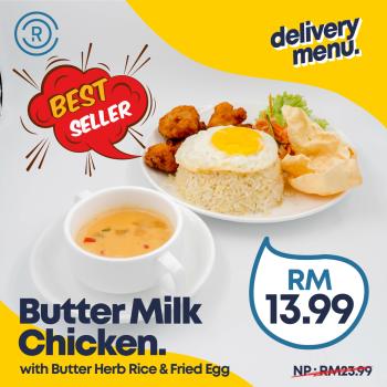 Butter Milk Chicken with Butter Rice