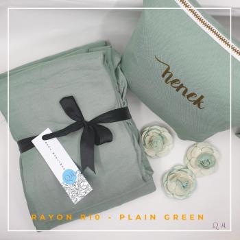 Telekung / Mukena Rayon -  Green