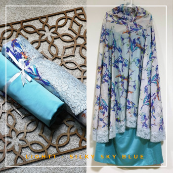 Travel Chiffon Silky - Sky Blue