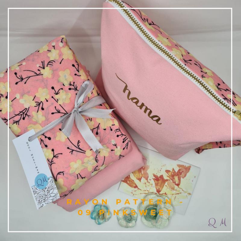 Telekung / Mukena Rayon - Pink Sweet