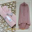 03. Telekung / Mukena Armani Silk - Pink - Qool Muslimah