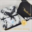 Telekung / Mukena Rayon - Abstract Black - Qool Muslimah