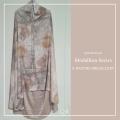P27.Telekung/Mukena Armani Silk Medallion Series-Nature Medallion - Qool Muslimah