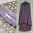 12. Telekung / Mukena Armani Silk - Lilac - Qool Muslimah