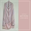 P25. Telekung/Mukena Armani Silk - Pink Diamond - Qool Muslimah