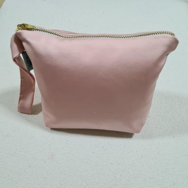 04. Telekung / Mukena Armani Silk - Pastel Pink - Qool Muslimah