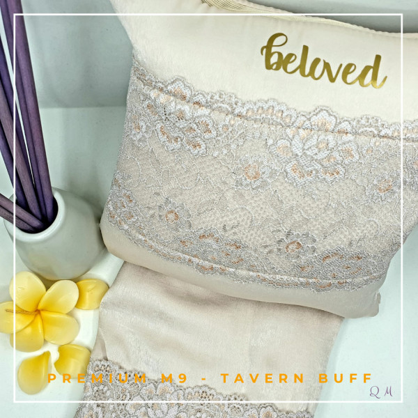 Telekung / Mukena Maxmara Silk - Tavern Buff - Qool Muslimah