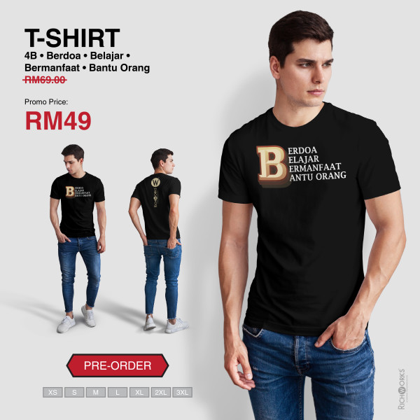 [Pre Order] T-SHIRT 4B - Richworks