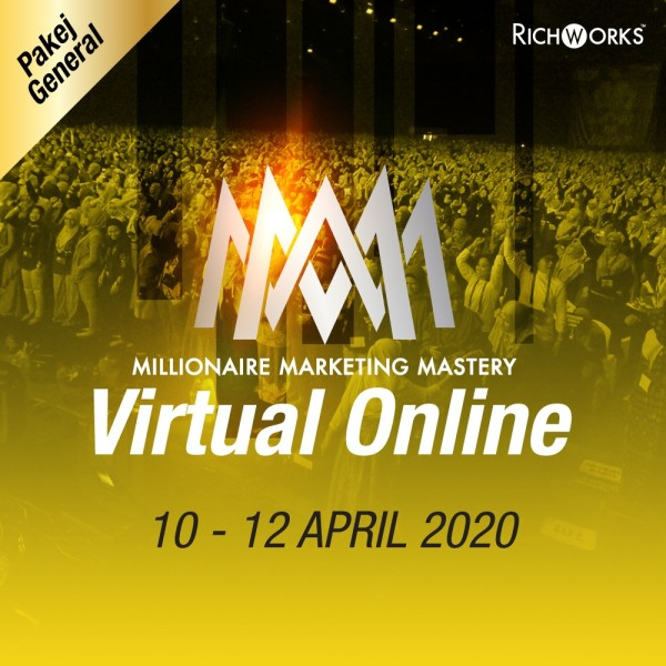 MILLONAIRE MARKETING MASTERY VIRTUAL ONLINE (GENERAL) - Richworks