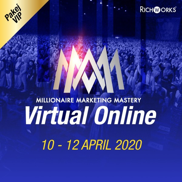 MILLONAIRE MARKETING MASTERY VIRTUAL ONLINE (VIP) - Richworks