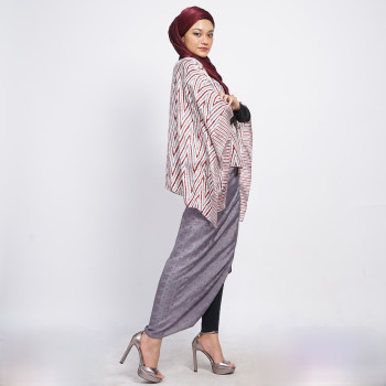 Aliah Abdat - Short Butterfly Zig Zag (Purple) - Virtual CelebFest