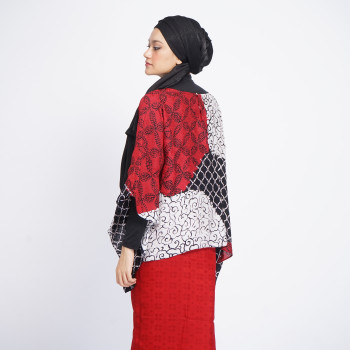 Aliah Abdat - Short Butterfly Folia (Red) - Virtual CelebFest