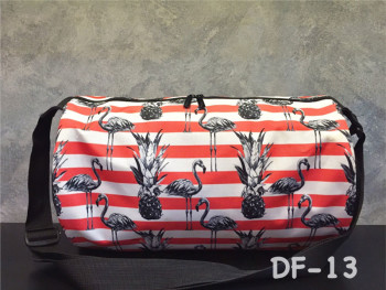 Duffel Bag 13 (Pineapple Flamingo)