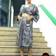 Mila Musa - Princess Kimono Kebaya Midi Paisley - Virtual CelebFest