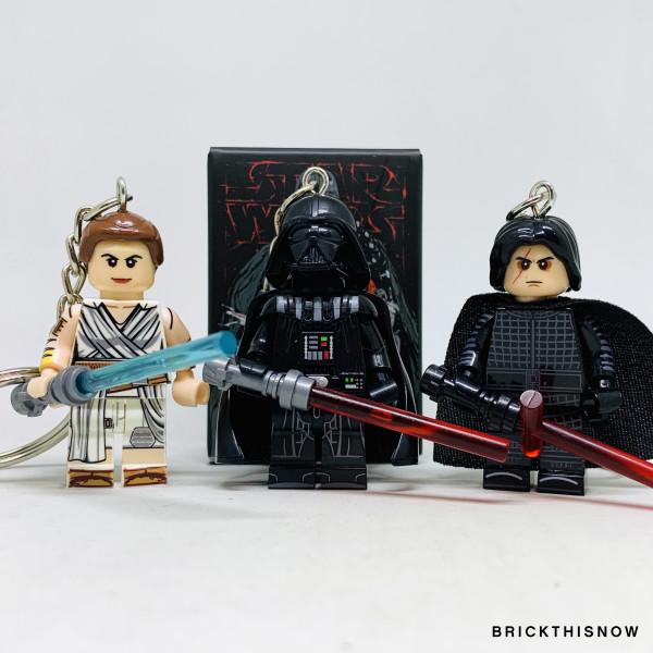 Darth Vader, Rey & Kylo Set - Virtual CelebFest