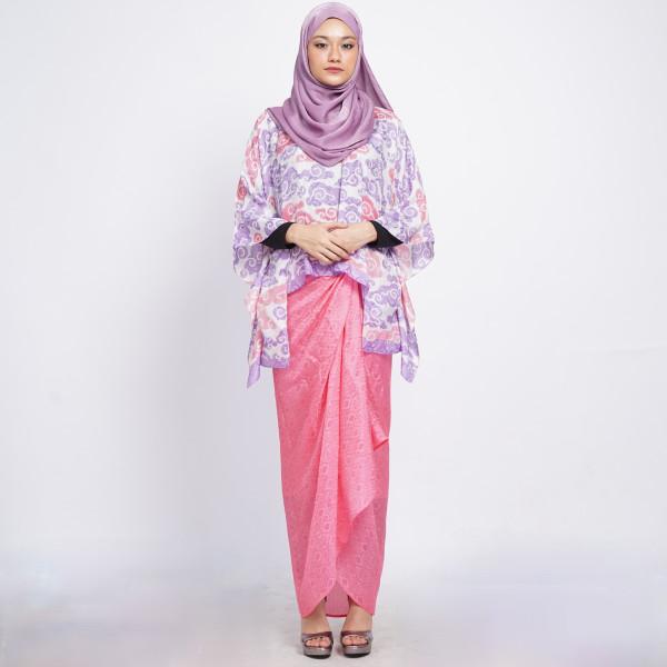 Aliah Abdat - Short Butterfly Cloud (Purple Pink) - Virtual CelebFest