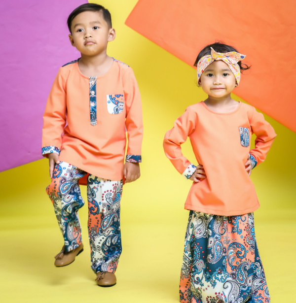 Ilhan Creations - Paisley Coral | Boys - Virtual CelebFest