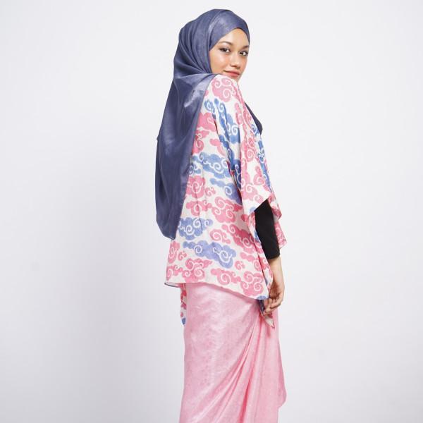Aliah Abdat - Short Butterfly Cloud (Pink Blue) - Virtual CelebFest