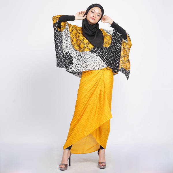 Aliah Abdat - Short Butterfly Folia (Yellow) - Virtual CelebFest