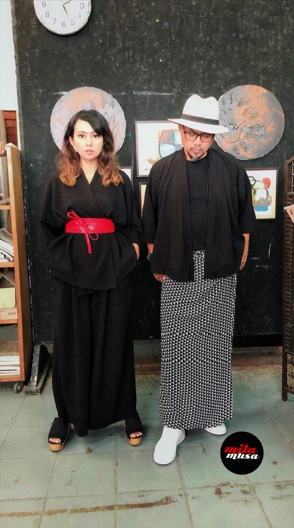 Mila Musa - Unisex Kimono TOP MMUK006 - Virtual CelebFest