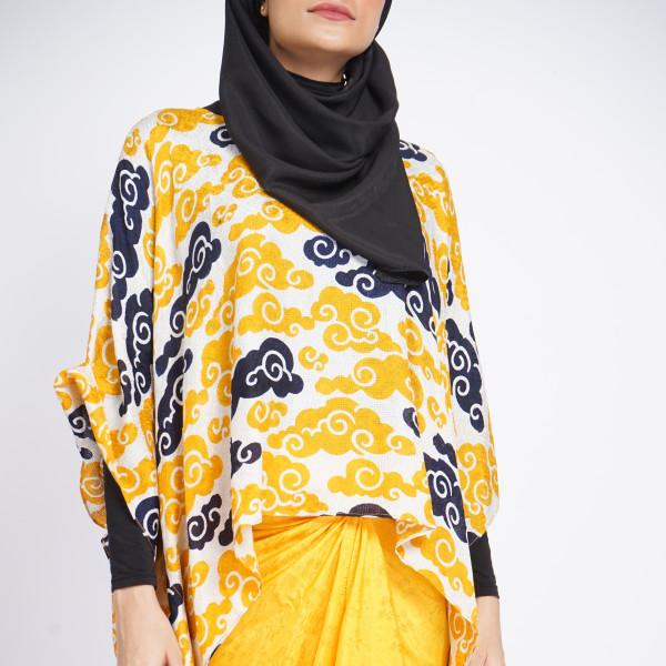 Aliah Abdat - Short Butterfly Cloud (Yellow) - Virtual CelebFest