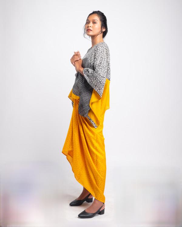 Aliah Abdat - Short Butterfly Kori (Yellow) - Virtual CelebFest