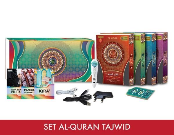 Tajwid Al-Quran Set with Digital Pen - Virtual CelebFest