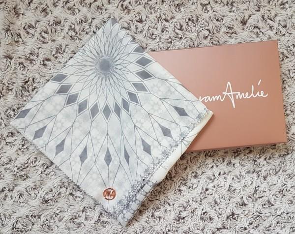 Maryam Amelie : Medina Square Voile (Marble) - Virtual CelebFest