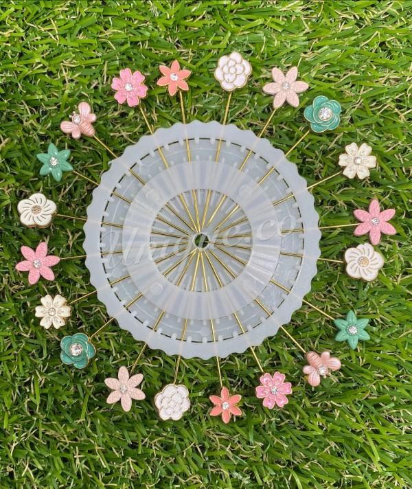 Unique.co - Hijab Pin Flower - Virtual CelebFest