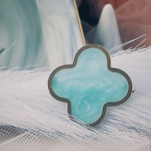Luna Clover Blue - Gold - Virtual CelebFest