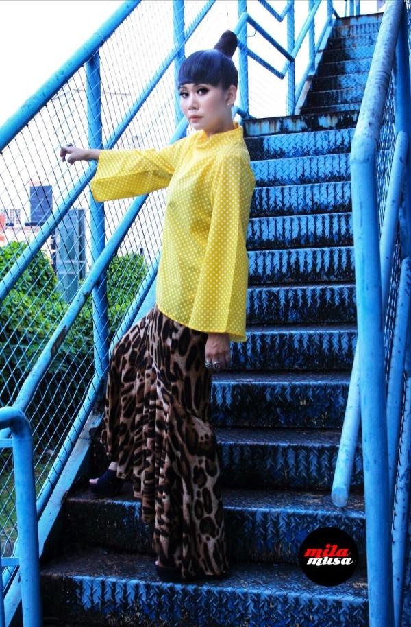 Mila Musa Princess Mermaid Animal Print Skirt - Virtual CelebFest