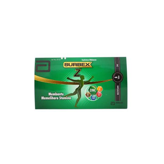 SURBEX-Z 6 TABLET - GriyaFarmaOnline
