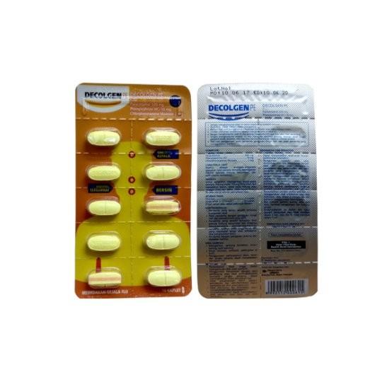 DECOLGEN PE 10 TABLET - GriyaFarmaOnline