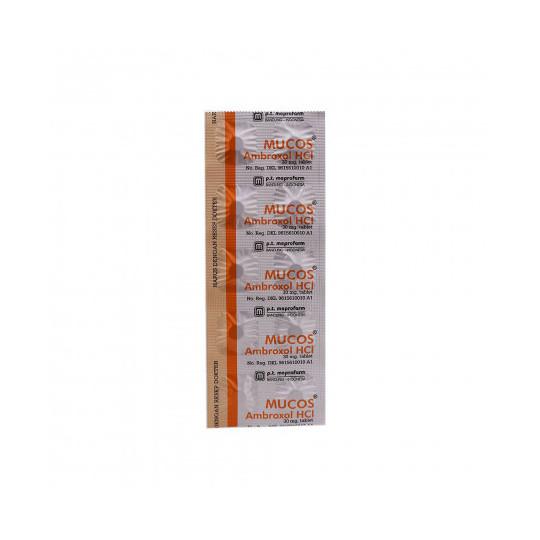 MUCOS 30 MG 10 TABLET - GriyaFarmaOnline