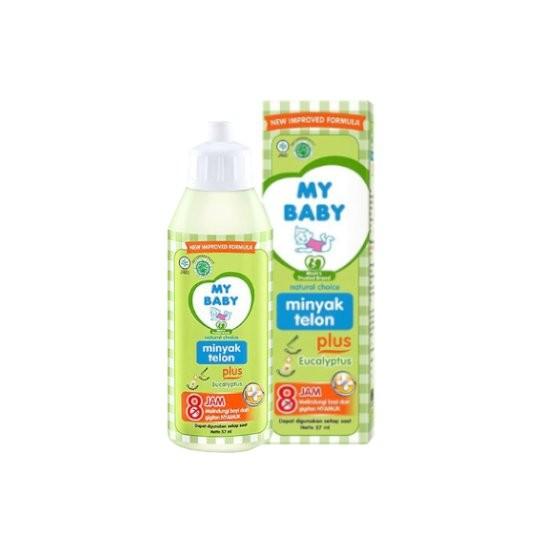 MY BABY MINYAK TELON PLUS EUCALYPTUS 57 ML - GriyaFarmaOnline