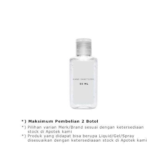 HAND SANITIZER 50 ML - GriyaFarmaOnline