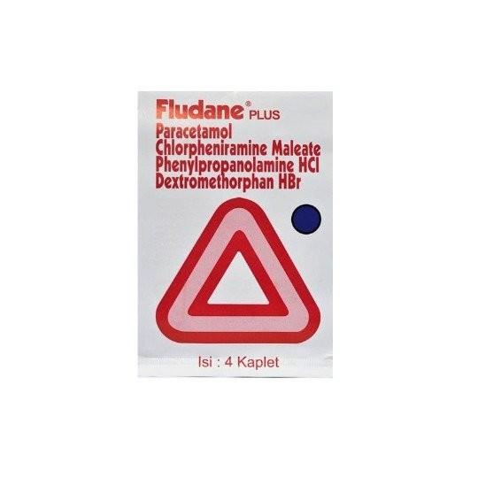 FLUDANE PLUS 4 KAPLET - GriyaFarmaOnline