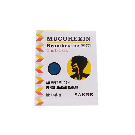 MUCOHEXIN 8 MG 4 TABLET - GriyaFarmaOnline