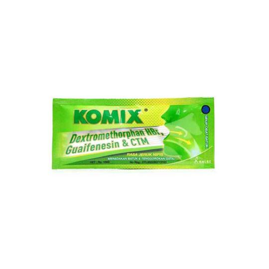 KOMIX RASA JERUK NIPIS SACHET 7 ML - GriyaFarmaOnline