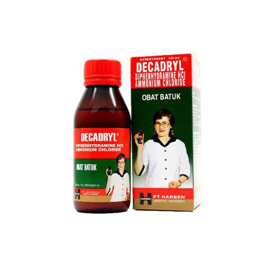 DECADRYL EKSPEKTORAN SIRUP 120 ML - GriyaFarmaOnline