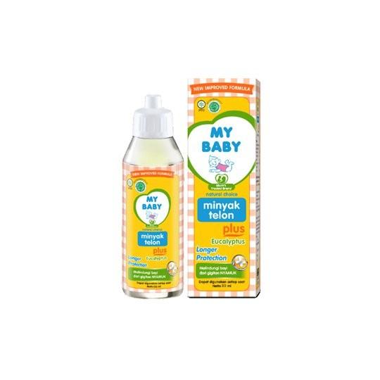 MY BABY MINYAK TELON PLUS LONG PROTECTION 90 ML - GriyaFarmaOnline