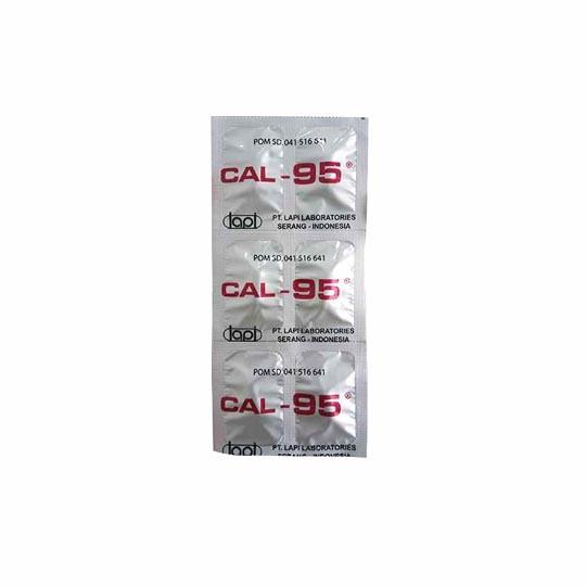 CAL-95 6 KAPLET - GriyaFarmaOnline
