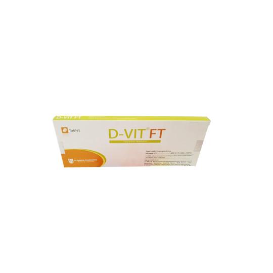 D-VIT 400 IU 10 TABLET - GriyaFarmaOnline