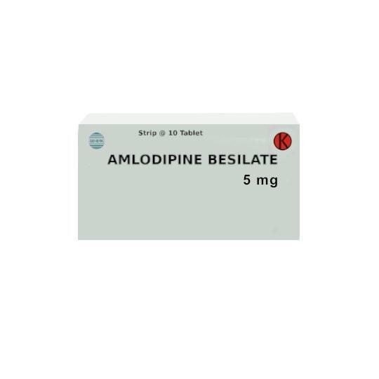 AMLODIPINE 5 MG 10 TABLET - GriyaFarmaOnline