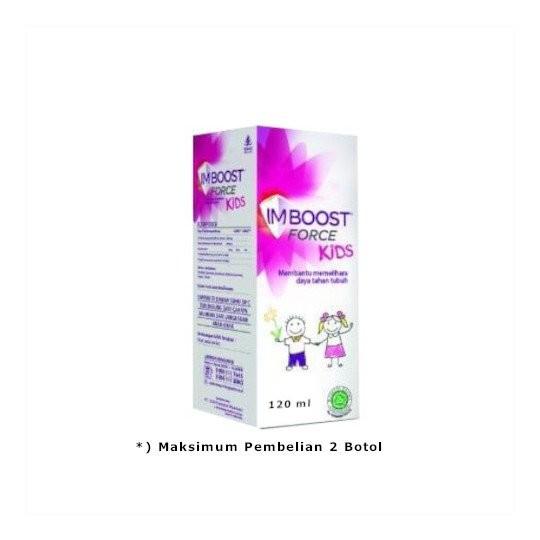 IMBOOST FORCE KIDS SIRUP 120 ML - GriyaFarmaOnline