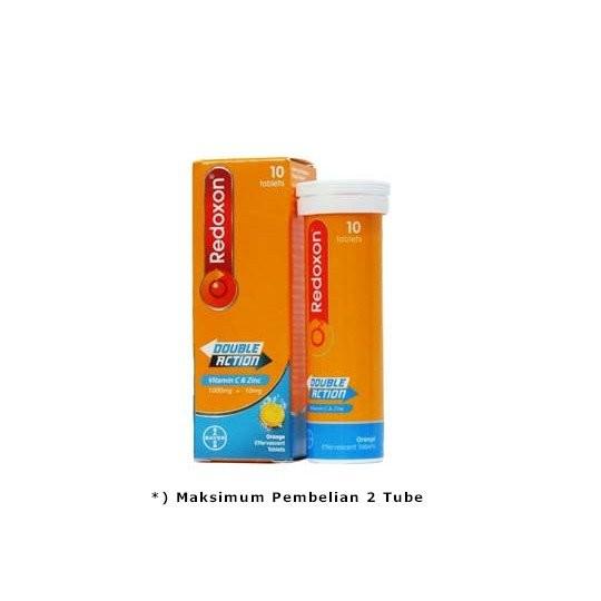 REDOXON DOUBLE ACTION EFFERVESCENT 10 TABLET - GriyaFarmaOnline