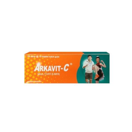 ARKAVIT-C MULTIVITAMIN 10 KAPLET - GriyaFarmaOnline