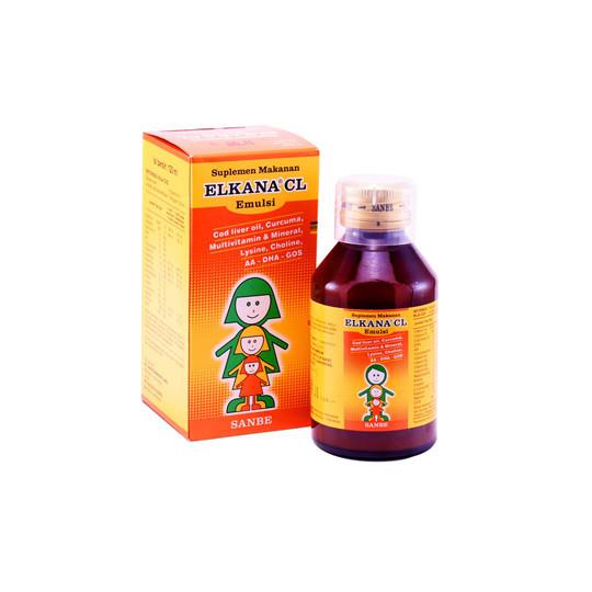 ELKANA CL SIRUP 120 ML - GriyaFarmaOnline