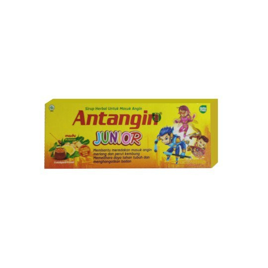 ANTANGIN JUNIOR HONEY MINT 5 SACHET - GriyaFarmaOnline